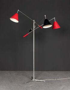 Modèle 12128 dit Triennale, Floor lamp