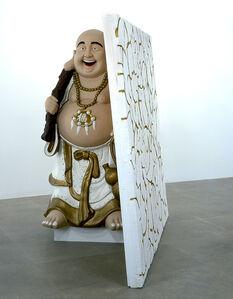 Buddha with Wall