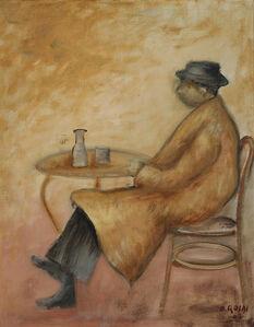 Uomo seduto