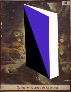 Daniel en la cueva de los leones, de la serie Transfiguraciones