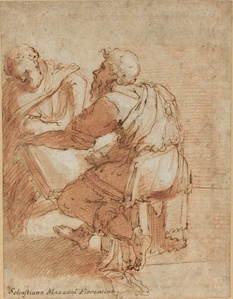 "Study for ""The Four Doctors of the Church"""