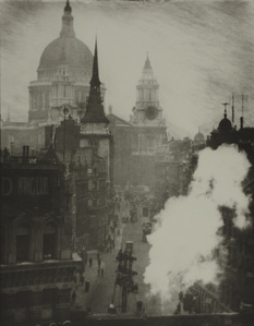 St. Paul's Cathedral from Ludgate Hill, London