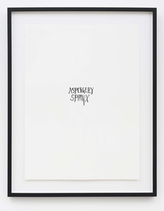 Aspergery Sphinx (from Portfolio A)