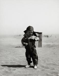 Darrel Coble, Son of Farmer in Dust Bowl, Cimarron County, Oklahoma