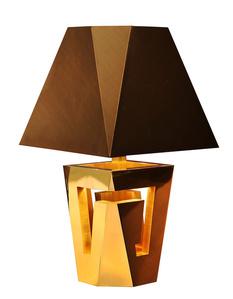Blocks Table Lamp Gold Version