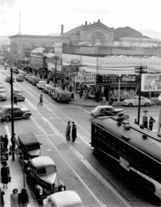 Looking South on Fillmore Street, 1947