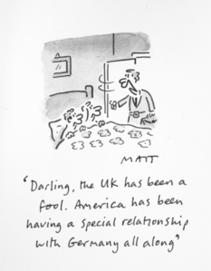 Darling, The UK Has Been A Fool. America Has Been Having A Special Relationship With Germany All Along