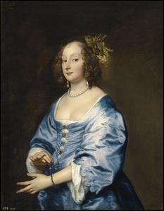 Mary, Lady van Dyck, née Ruthven