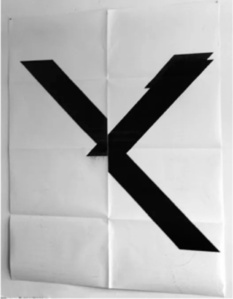 'X', Print Edition, Signed