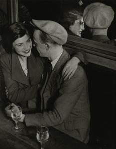 Couple souriant, Balmusette des quatre saisons, Rue de lappe