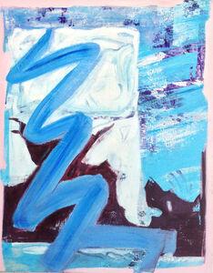 Crackpot Daydream, oil on canvas, 90 x 72  2015, 1900