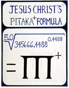untitled (jesus christs pitaka + formula)