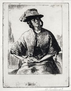 Elizabeth (Anais, also called the London Coster Girl)