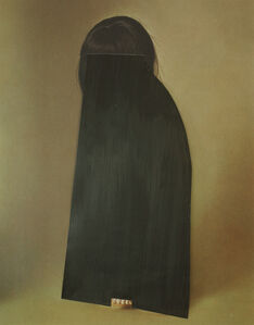 Untitled (Girl with black veil)