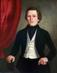 American portrait of Gentleman circa 1820