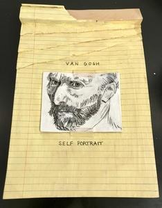 Legal Pad - Van Gogh