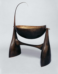 Sculptural cradle