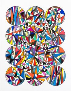 Versor Parallels #3 (Physical Template in Twelve Spheres)