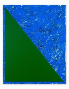 Untitled (Triangle Painting #10)