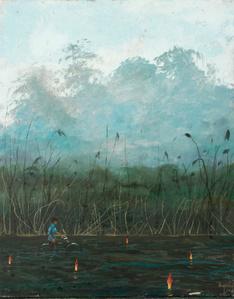 Fuegos en el rio