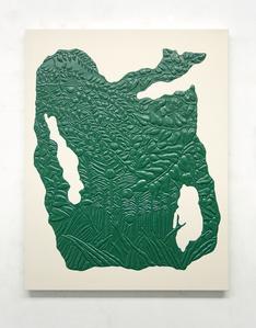 "Untitled (Henri Rousseau , ""Exotic Landscape"")"