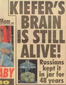 Kiefers Brain is still alive