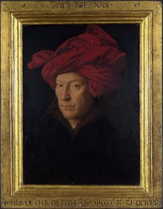 Man in a Red Turban (Self Portrait?)