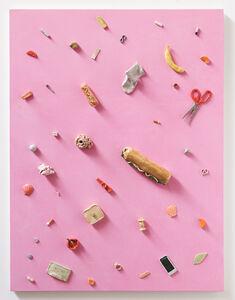 Untitled (sock, sandwich, scissors)
