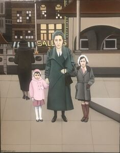 Anne, Edith and Margot Frank