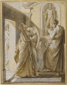 The Father of Psyche Consulting the Oracle of Apollo