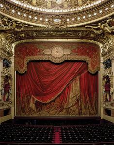 Curtain, Palais Garnier, Paris, France