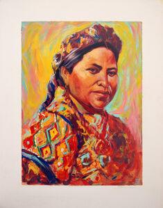 Portrait of Rigoberta Menchu