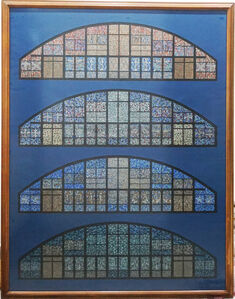 Projetos de vitrais para a igreja Santa Cruz de Copacabana