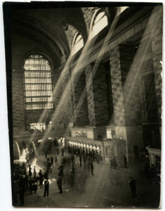 Grand Central Interior with Shafts of Light