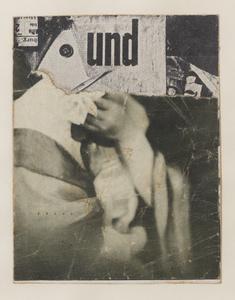 Ohne Titel (Collagierte Bildpostkarte Das Undbild)