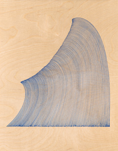 Curved Lines (after Hokusai)