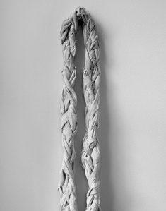 Handmade Jump Rope (torn and braided bed sheet)