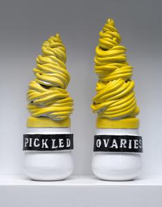 pickled ovaries
