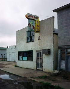 Cowboy Bar, Paris, Texas, 2001