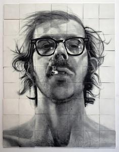 Self-Portrait with Cigarette