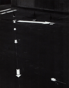 Untitled (White Arrows)