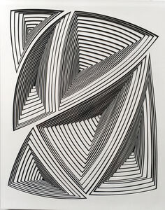 'Black & White Abstract-In'
