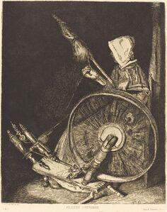 Fileuse Bretonne (Breton Spinner)