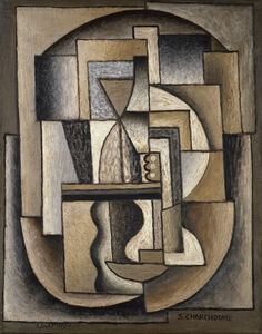 Composition Cubisme Ornemental