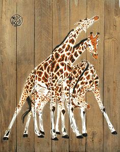 Trois Girafes