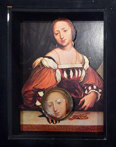 Lais de Corinthe c.1526 (Hans Holbein, 1497/8-1543)