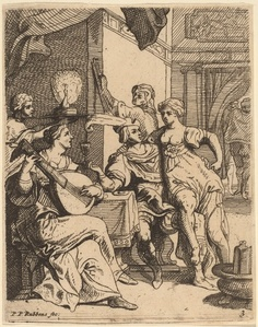 The Prodigal Wasting His Substance in the Tavern