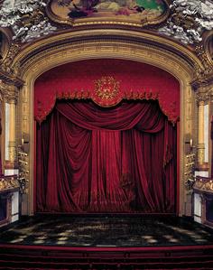 Curtain, Kungliga Operan, Stockholm, Sweden