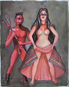 Exu and Pomba Gira
