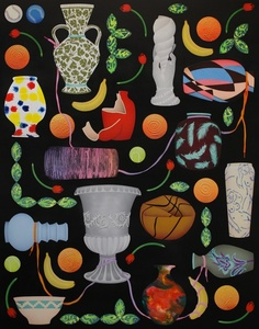Thirteen Vases / Seven Oranges